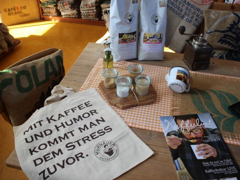 Kaffeerösterei Deko