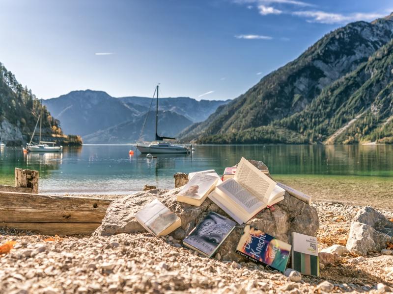 Bücher Strand Achensee