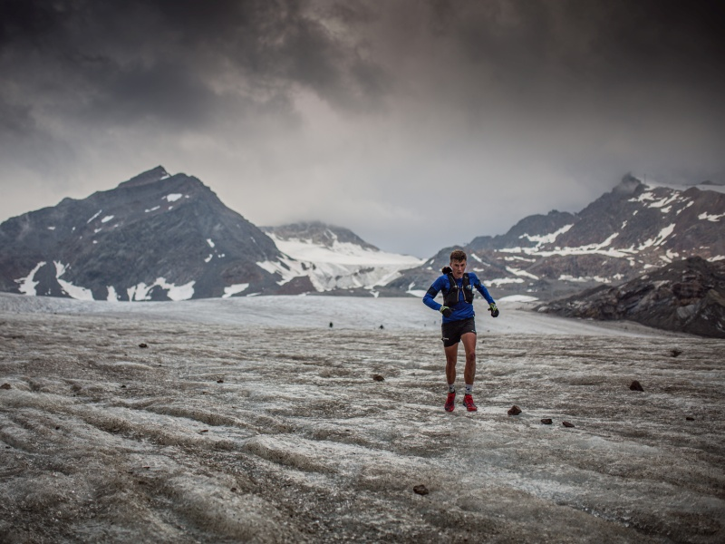 Trailrunner Gletscher