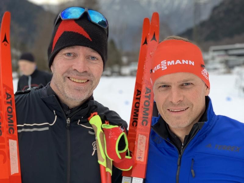Teond Nystad und Tobias Angerer
