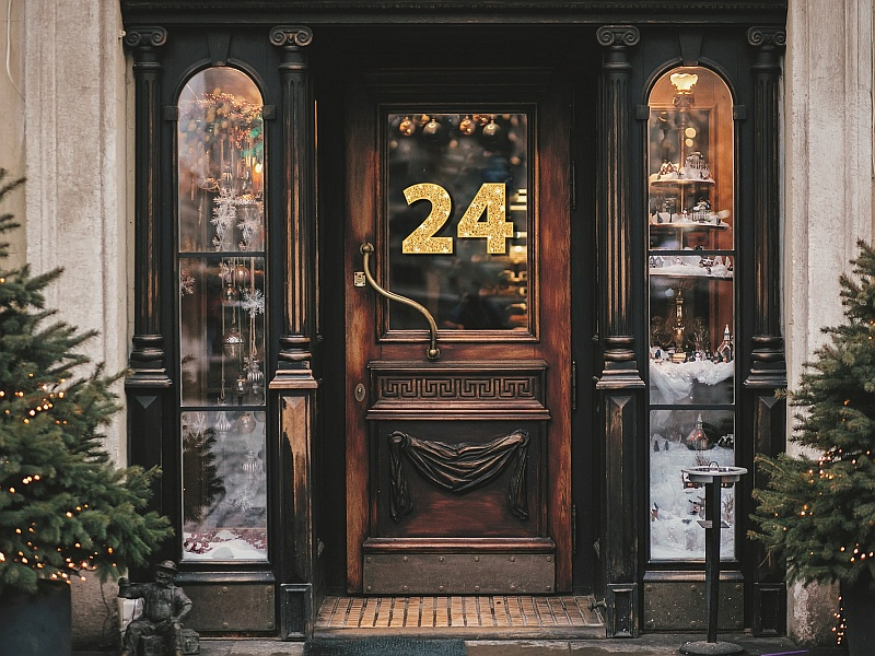 Haustür Nr. 24 Adventkalender