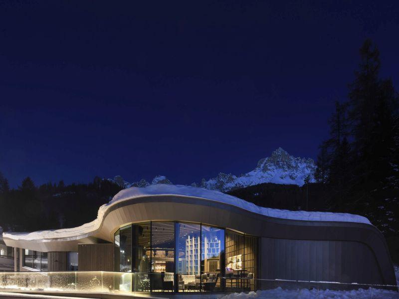 Das 'Loox' Obereggen Latemar Architektur