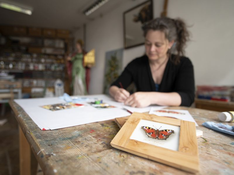 Hinterglasmalerei Werkstatt Christina Dichtl
