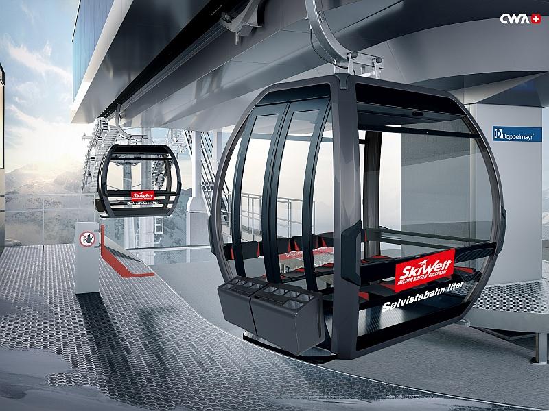 Neue Salvistabahn Bergstation