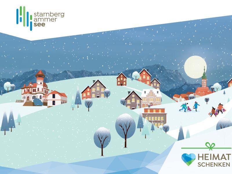 Werbeplakat Heimatschenken Region StarnbergAmmersee
