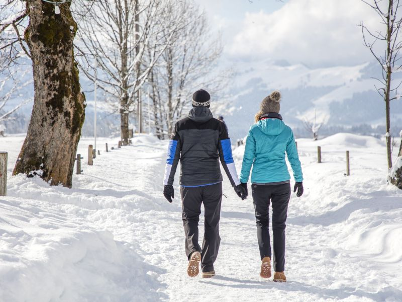 Paar Winterwanderweg KAT Walk