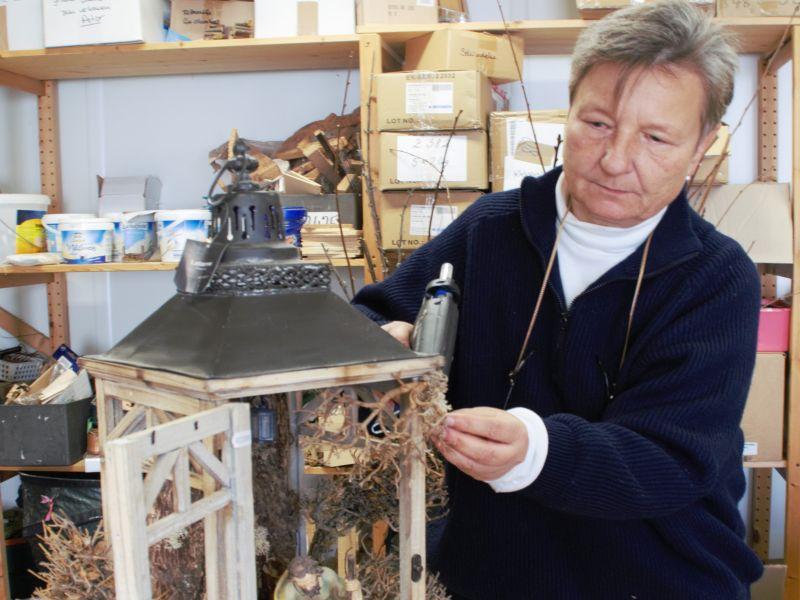 Ursula Böhner Werkstatt Krippengestaltung