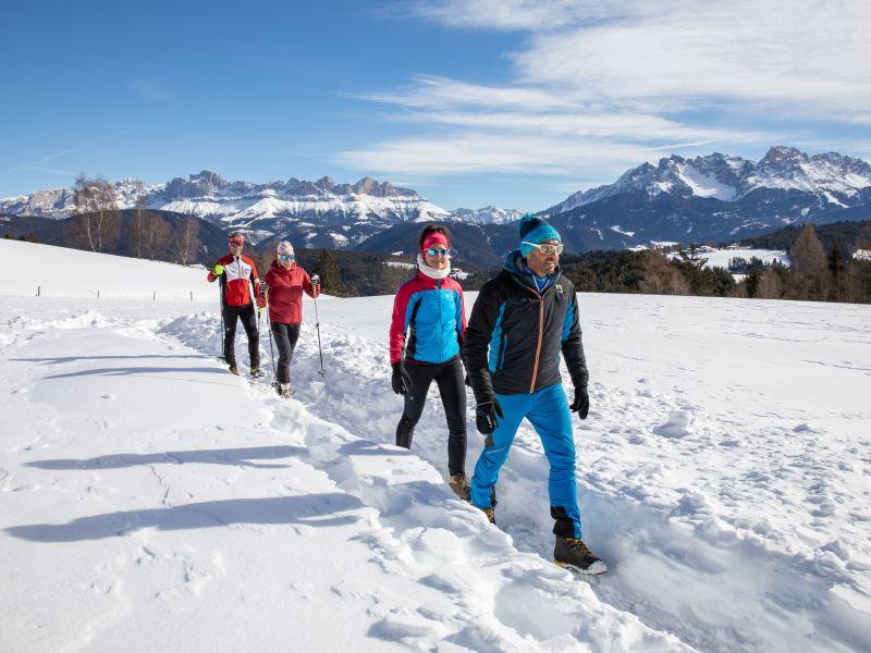 Winterwanderung 4 Personen
