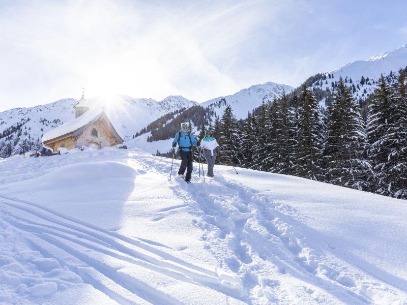 Schneeschuhwandern Schönangeralm Wildschönau