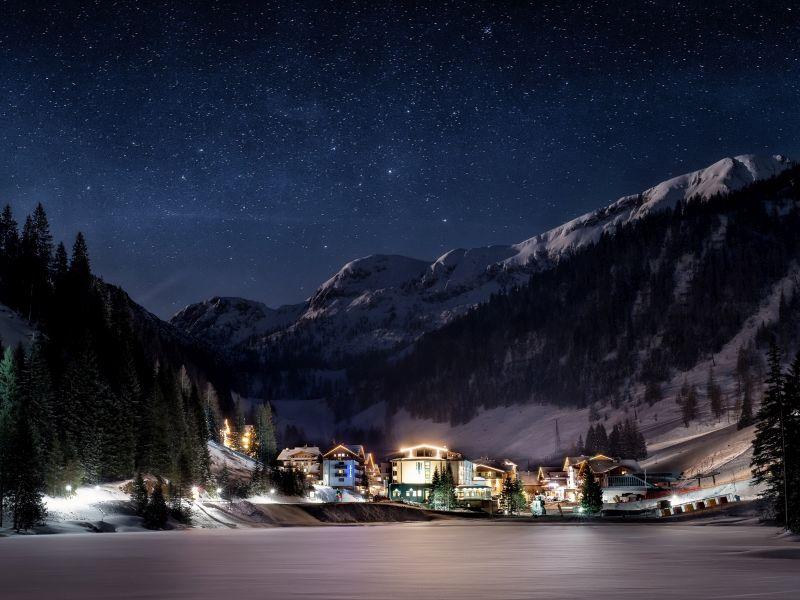 Zauchensee bei Nacht