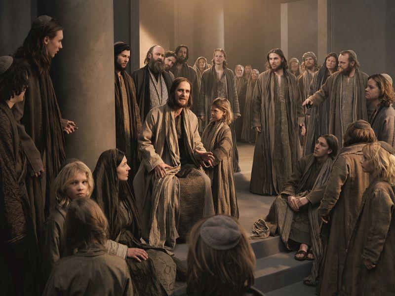 Jesus in Bethanien Passionsspiele