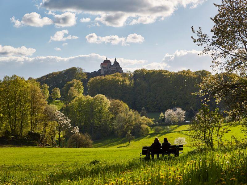 Burg Hohenstein Ansicht