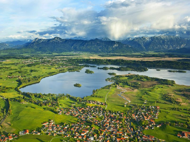 Das Blaue Land Staffelsee mit Umgebung