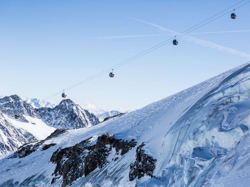 Wildspitzbahn Pitztaler Gletscher