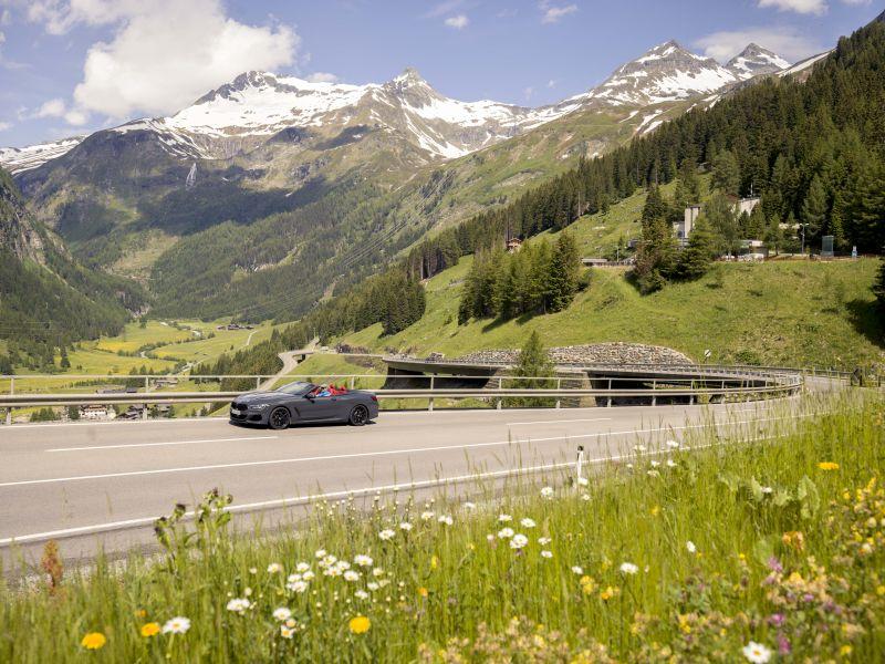 Felbertauernstraße Alpenpanorama