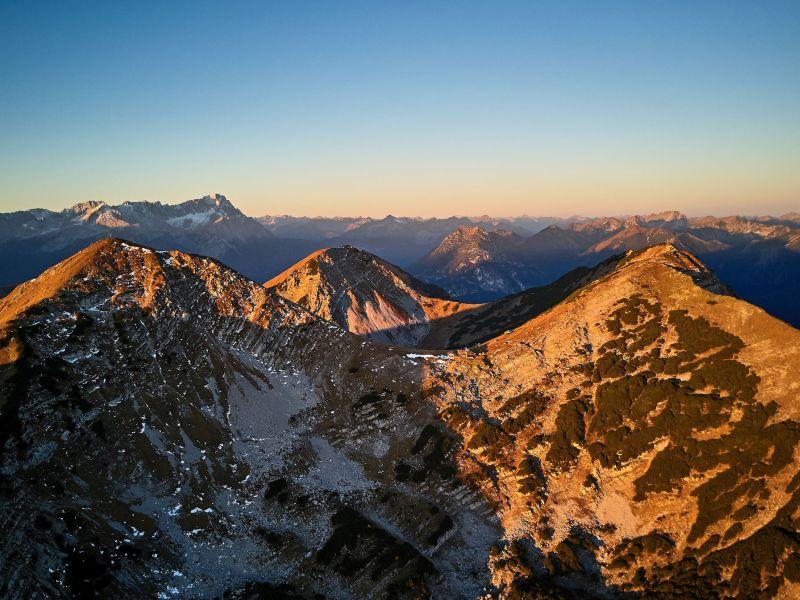 drei Gipfel Krottenkopf