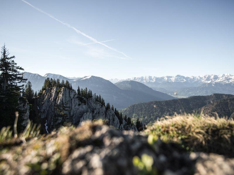 Naturpark Ammergauer Alpen Ausblick