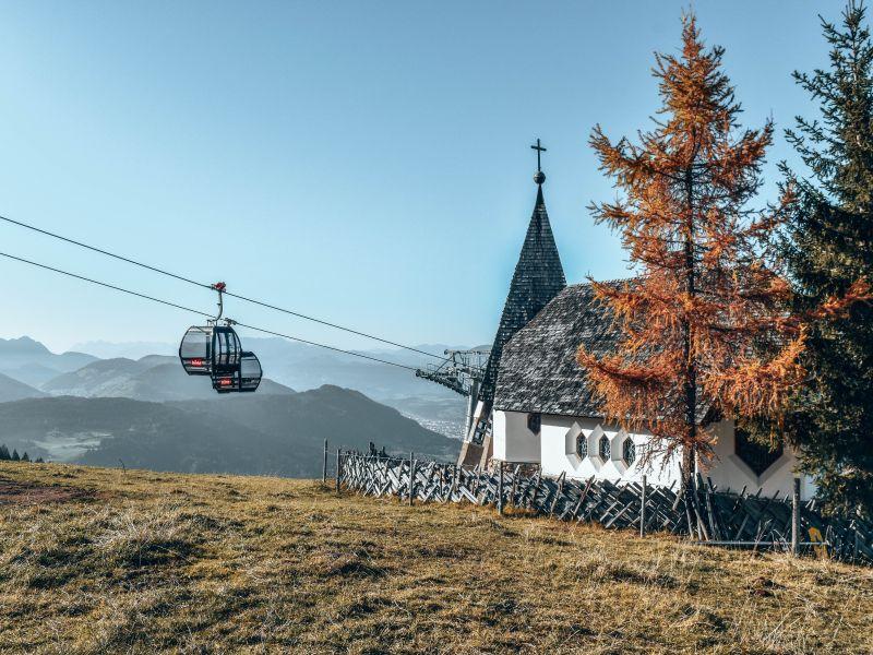 Kapelle an der neuen Salvistabahn