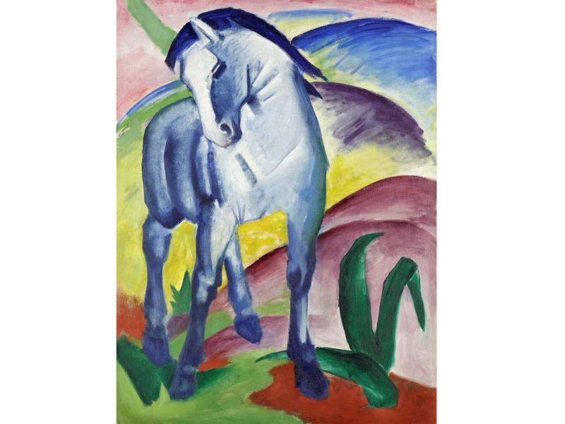 Blaues Pferd Franz Marc