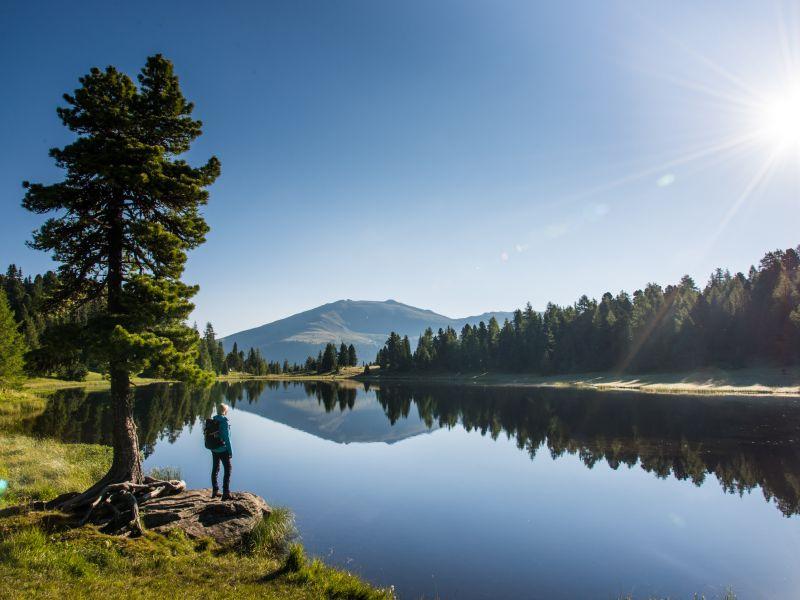 Nockberge Trail See Wanderer