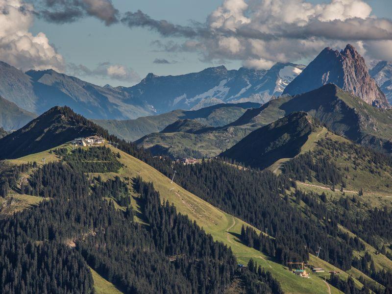 Brixentaler Berge Ausblick
