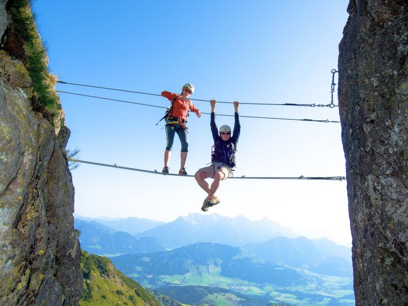 Klettersteig Henne Fieberbrunn