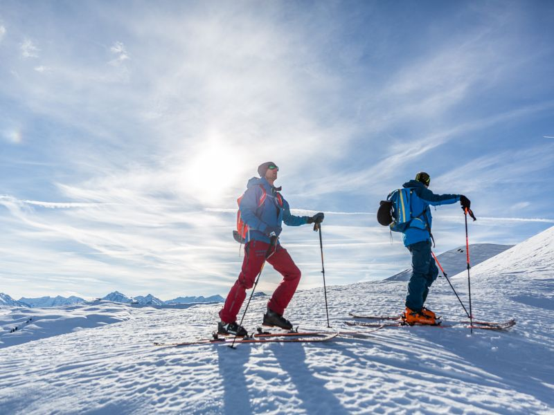 Skitourengeher im Pillerseetal
