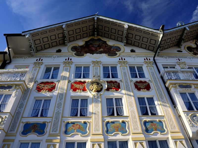 Historische Fasade Stadtmuseum Bad Tölz